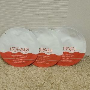 NWT Set of 3 Kopari Coconut Detox Mask